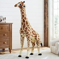 Jumbo Giraffe Plush | Pottery Barn Kids
