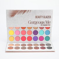 Beauty Glazed New Arrival 63 Color eyeshadow pallete Glitter Makeup Matte Eye shadow make up palette maquillage paleta de sombra