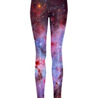 Violet Nebula Leggings