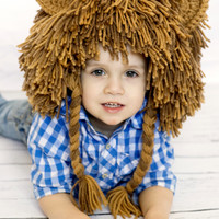READY TO SHIP- Size Child size  Lion WIg Halloween Costume