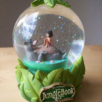 Disney The Jungle Book 40th Anniversary Waterglobe