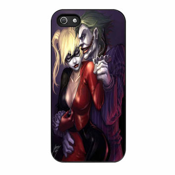 Joker With Harley Quinn iPhone 5s Case
