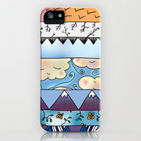 Sky iPhone Case by Catherine Holcombe | Society6