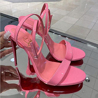 Christian Louboutin 2021 New Red pointed high heels
