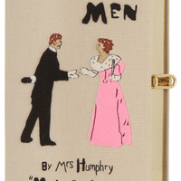 Olympia Le-Tan - Manners For Men embroidered clutch