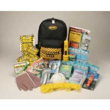 Back Pack Emergency Survival Kit- Deluxe 4 Person