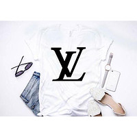 Latest Tide Brand Trendy Fashion Printed Letter T-Shirt Shirt Top Tee
