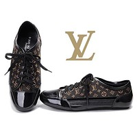 LV Women Casual Sneakers Sport Shoes