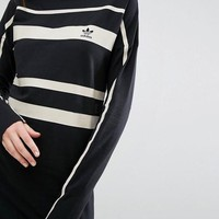 adidas Originals Paris Stripe Midi Dress