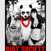Bare Skin Riot Society Sticker