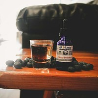 """Berry Bourbon""  Vape Juice"