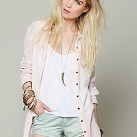 Free People  Tie Dye Gauze Button Down at Free People Clothing Boutique