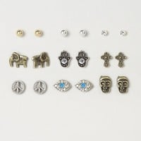 Assorted Peaceful Vibes Stud Earrings – Claire's