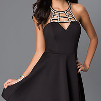 Sleeveless Little Black Dress D62861DB8 by Speechless
