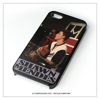 Shawn Mendes Performances iPhone 4 4S 5 5S 5C 6 6 Plus , iPod 4 5 , Samsung Galaxy S3 S4 S5 Note 3 Note 4 , HTC One X M7 M8 Case