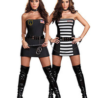 Crimes And Miss Demeanors Costume | Sexy Clothes Womens Sexy Dresses Sexy Clubwear Sexy Swimwear | Flirt Catalog