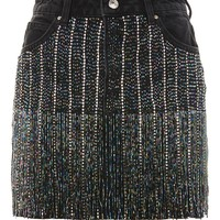 MOTO Dazzle Fringe Skirt - New In Fashion - New In