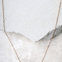 Intentions Rose Gold and Pearl Necklace