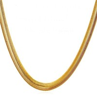 8mm Stainless Steel Snake Chain
