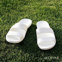 white classic jandals® -  pali hawaii Jesus sandals