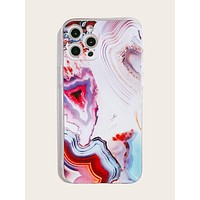 Abstract Fluid Pattern iPhone Case