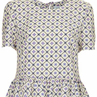 **REEVES CROP TOP WITH PEPLUM BY JOVONNA