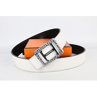 Hermes belt men's and women's casual casual style H letter fashion belt213