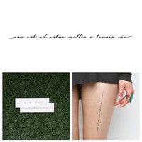 Limitless - Temporary Tattoo (Set of 2)