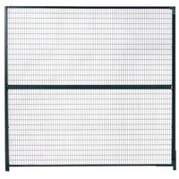 Wirecrafters Partition Panel, 8 ft x 5 ft, Enamel 810   Zoro.com