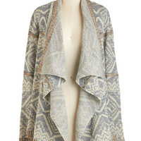 ModCloth Mid-length Long Sleeve Rustic Relaxation Cardigan