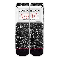 Function - Keep Out Notebook Fashion Socks