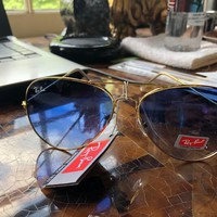 NEW SUNGLASSES RAY-BAN RB3429M in Gold