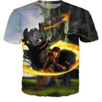 How to train your dragon; Hiccup and toothless