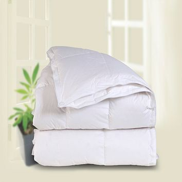 3-In-1 Anytime White Goose Down Comforter by Downright