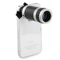 Optical 8X Zoom Telescope Camera Lens Manual Focus for iPhone 4 4s