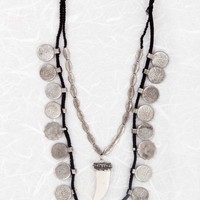 Coin Tooth Necklace