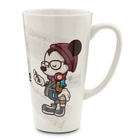 disney parks mickey happiest hipster on heart ceramic maruyama coffee mug new