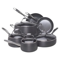 Earth Pan 10 piece Hard Anodized Cookware Set
