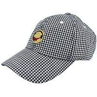 Frat Hat in Navy Gingham by Southern Proper