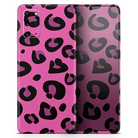 Pink Vector Cheetah Print - Skin-Kit for the Samsung Galaxy S-Series S20, S20 Plus, S20 Ultra , S10 & others (All Galaxy Devices Available)