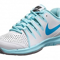 Nike Vapor Court White/Glacier Ice/Blue Women's Shoe