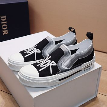 dior fashion men womens casual running sport shoes sneakers slipper sandals high heels shoes 201
