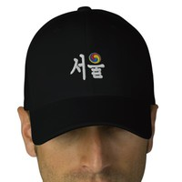 Seoul (서울) for Sale Embroidered Baseball Cap | Zazzle