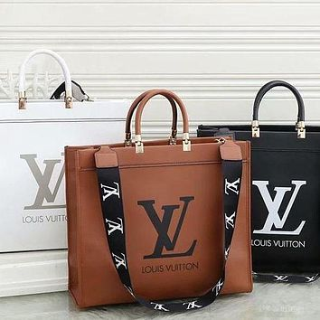 LV Louis Vuitton Fashion Leather Handbag Satchel Shoulder Bag