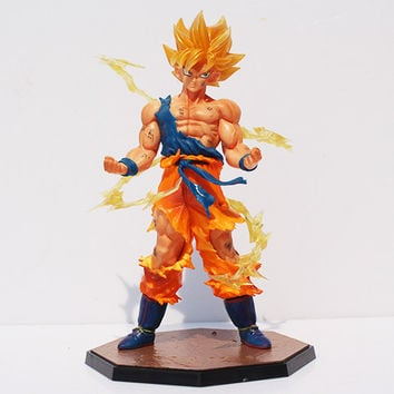 Goku PVC Action Figure Collectible Toy 18CM