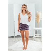 Grace & Lace PJ Shorts -  Fan Floral