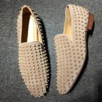 DCCK2 Cl Christian Louboutin Loafer Style #2339 Sneakers Fashion Shoes