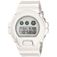 Casio G-Shock Whiteout Watch - Matte White Finish - Mirror LCDs - Flash Alert