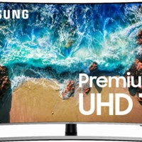 "Samsung - 55"" Class - LED - Curved - NU8500 Series - 2160p - Smart - 4K UHD TV with HDR"
