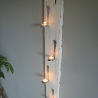 DIY Art /  Spoons with Candles